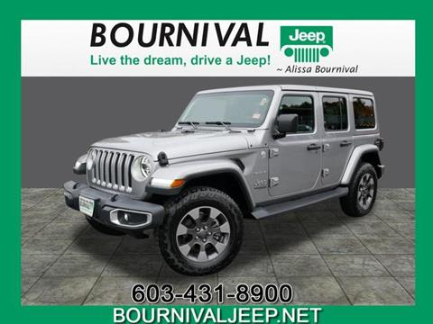2018 Jeep Wrangler Unlimited for sale in Portsmouth, NH