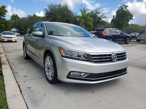 2018 Volkswagen Passat for sale in Coconut Creek, FL