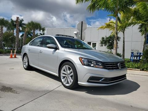 2019 Volkswagen Passat for sale in Coconut Creek, FL