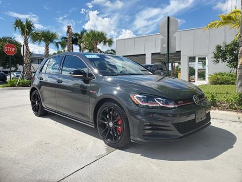 2019 Volkswagen Golf GTI for sale in Coconut Creek, FL