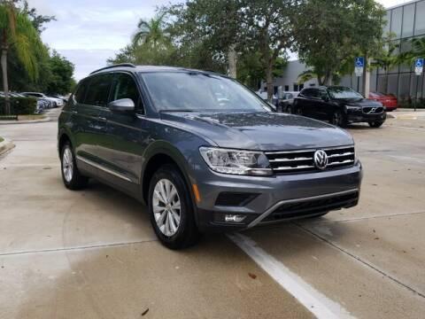 2018 Volkswagen Tiguan for sale at Gunther Volvo Cars of Coconut Creek in Coconut Creek FL