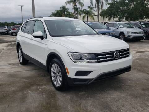 2019 Volkswagen Tiguan 2.0T S for sale at Gunther Volvo Cars of Coconut Creek in Coconut Creek FL