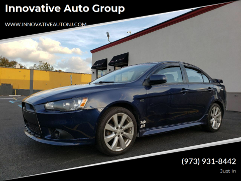 2014 Mitsubishi Lancer for sale at Innovative Auto Group in Hasbrouck Heights NJ
