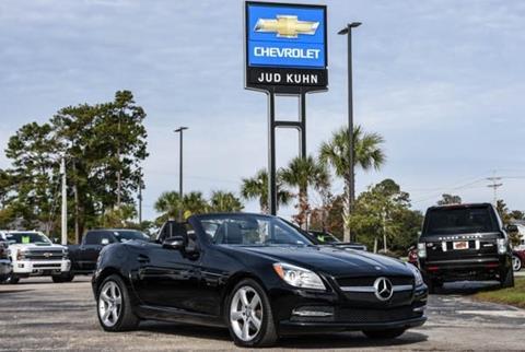 2013 Mercedes-Benz SLK for sale in Little River, SC