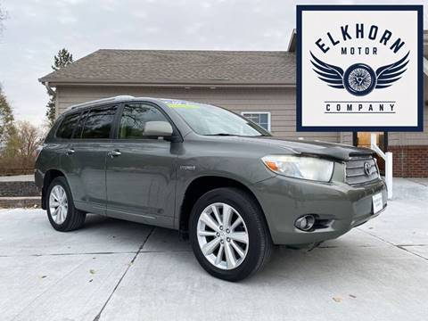 2009 Toyota Highlander Hybrid for sale in Waterloo, NE