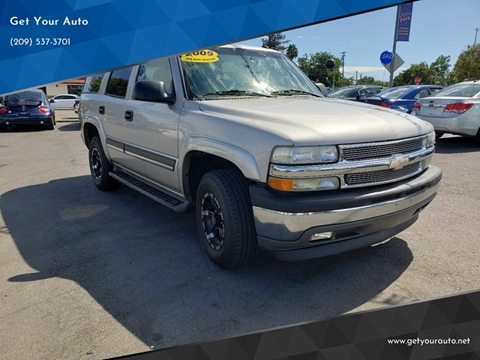 2005 Chevrolet Tahoe For Sale In Ceres Ca
