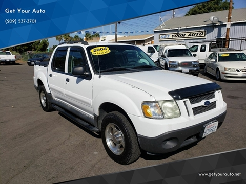 2004 Ford Explorer Sport Trac for sale in Ceres, CA