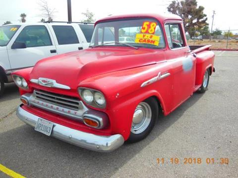 1958 Chevrolet Apache for sale in Hesperia, CA