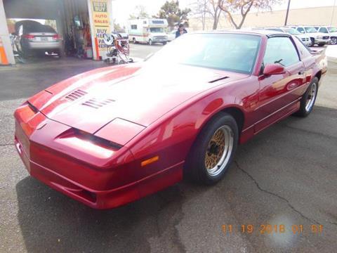 1987 Pontiac Firebird for sale in Hesperia, CA