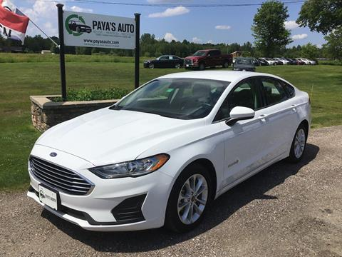 2019 Ford Fusion Hybrid for sale in Williston, VT