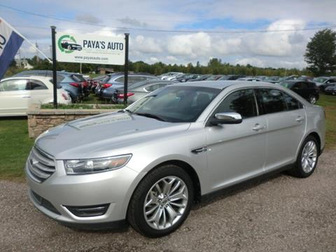 2015 Ford Taurus for sale in Williston, VT
