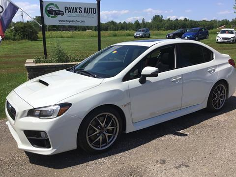 Used Subaru Wrx For Sale >> 2015 Subaru Wrx For Sale In Williston Vt