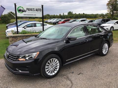 2017 Volkswagen Passat for sale in Williston, VT