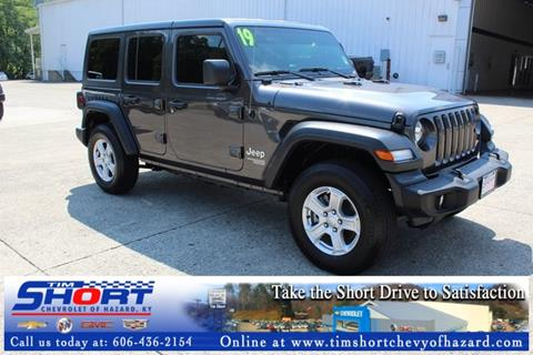 2019 Jeep Wrangler Unlimited for sale in Hazard, KY