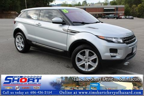 2015 Land Rover Range Rover Evoque Coupe for sale in Hazard, KY