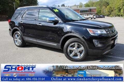 Tim Short Ford Hazard Ky >> 2016 Ford Explorer For Sale In Hazard Ky