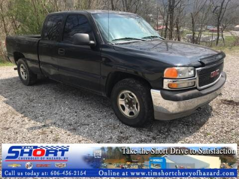 2002 GMC Sierra 1500 for sale at Tim Short Chevrolet of Hazard Kentucky in Hazard KY