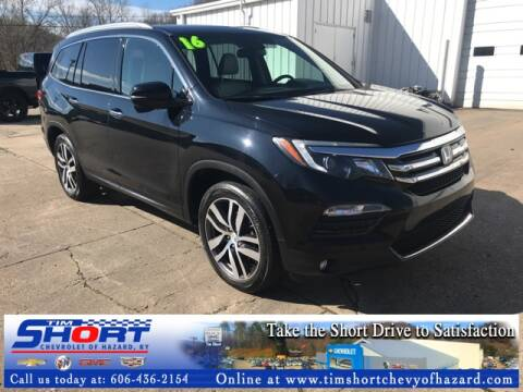 2016 Honda Pilot Touring for sale at Tim Short Chevrolet of Hazard Kentucky in Hazard KY