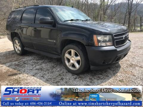 2007 Chevrolet Tahoe LT for sale at Tim Short Chevrolet of Hazard Kentucky in Hazard KY