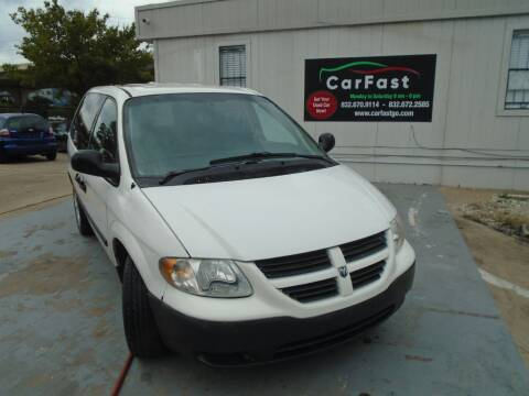 2007 Dodge Caravan C/V for sale at Carfast in Houston TX