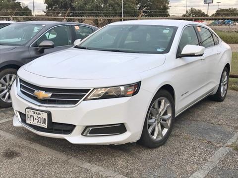 2017 Chevrolet Impala for sale in Houston, TX