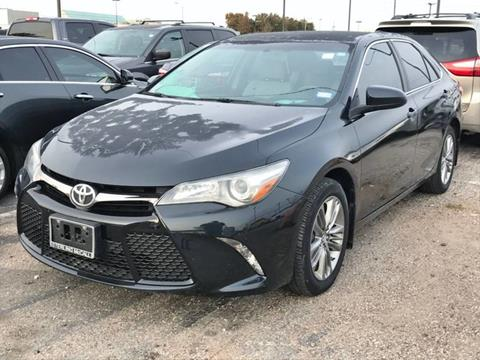 2016 Toyota Camry for sale in Houston, TX