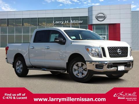 2019 Nissan Titan for sale in Highlands Ranch, CO