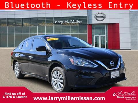 2017 Nissan Sentra for sale in Highlands Ranch, CO