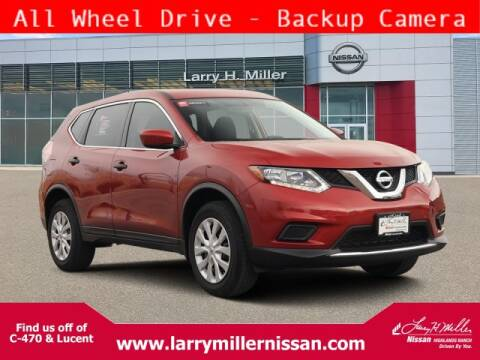 2016 Nissan Rogue S for sale at Larry H Miller Nissan Highlands Ranch in Highlands Ranch CO