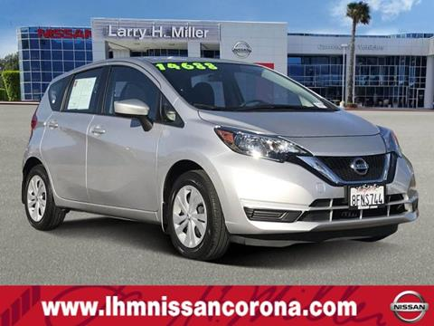 2018 Nissan Versa Note for sale in Corona, CA