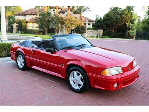 91 Mustang Gt >> Used 1991 Ford Mustang For Sale Carsforsale Com