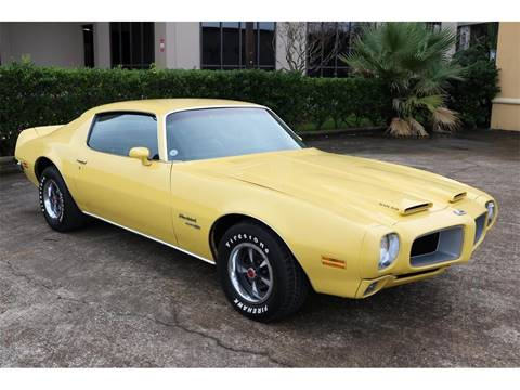 1970 Pontiac Firebird for sale in Conroe, TX