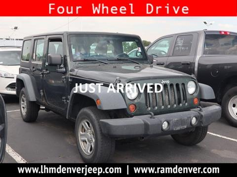 2011 Jeep Wrangler Unlimited for sale in Aurora, CO