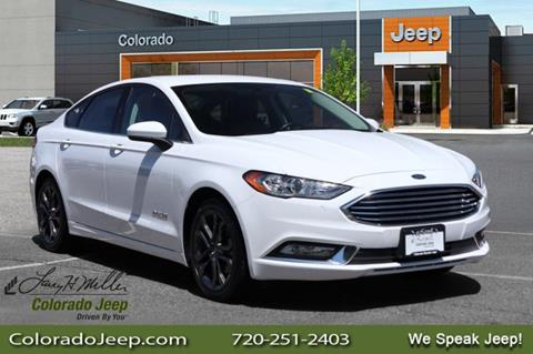 2018 Ford Fusion Hybrid for sale in Aurora, CO