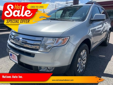 2007 Ford Edge for sale in Denver, CO