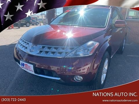 2006 Nissan Murano for sale in Denver, CO