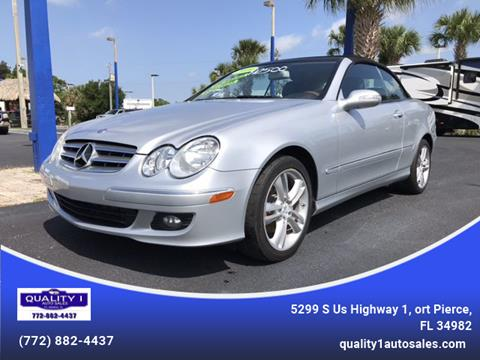 2009 Mercedes-Benz CLK for sale in Fort Pierce, FL