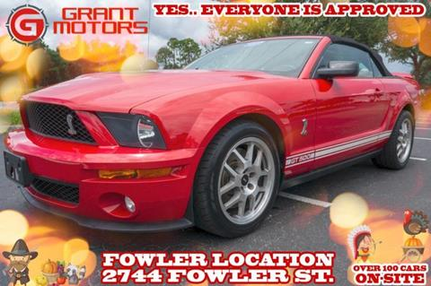 2007 Ford Shelby GT500 for sale in Fort Myers, FL