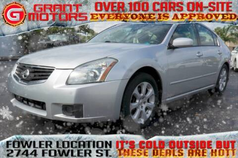 07 Nissan Maxima >> 2007 Nissan Maxima For Sale In Fort Myers Fl