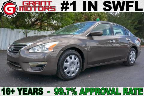 2014 Nissan Altima 2.5 S for sale at Grant Motors in Fort Myers FL