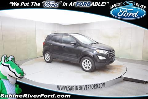 2019 Ford EcoSport for sale in Orange, TX
