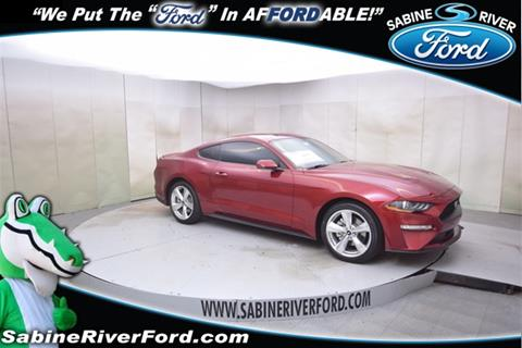 2019 Ford Mustang for sale in Orange, TX