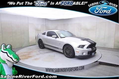2013 Ford Shelby GT500 for sale in Orange, TX