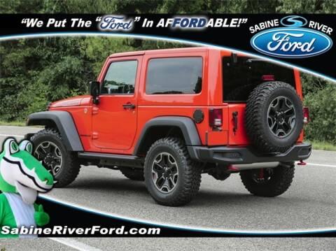 2017 Jeep Wrangler for sale in Orange, TX