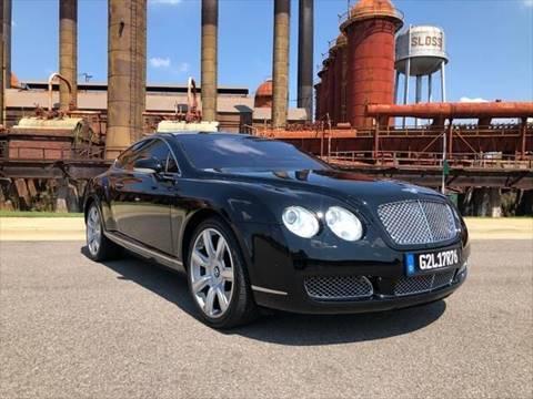 2006 Bentley Continental GT for sale at Birmingham Broker in Birmingham AL