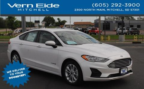 2019 Ford Fusion Hybrid for sale in Mitchell, SD