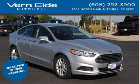 2016 Ford Fusion for sale in Mitchell, SD