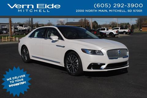 2019 Lincoln Continental for sale in Mitchell, SD