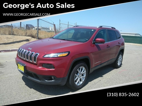 2017 Jeep Cherokee for sale in Wilmington, CA