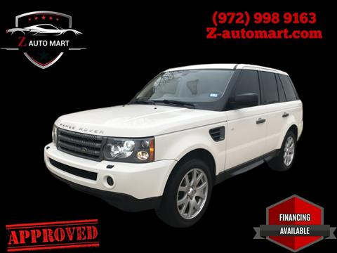 2010 Land Rover Range Rover Sport for sale in Lewisville, TX